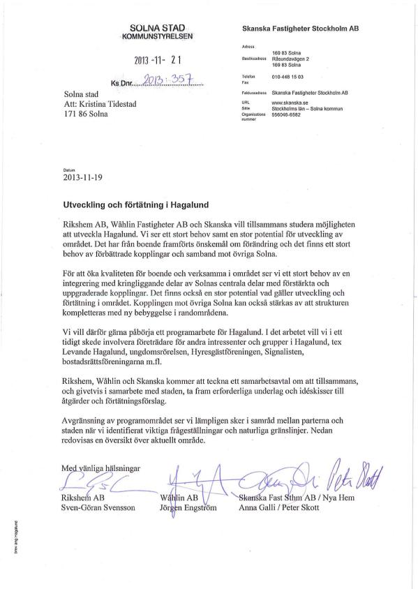 2013-11-19-Förfrågan-från-Rikshem-AB,-Wåhlin-AB-och-Skanska-Fastigheter-AB
